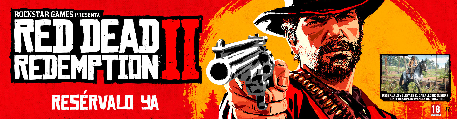 Red Dead Redemption 2 Reserva